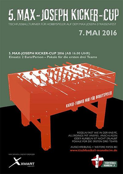 5. Max-Joseph Kicker-Cup